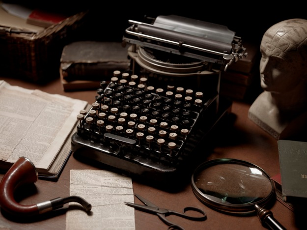 """It is a curious thing,"" remarked Holmes, ""that a typewriter has really quite as much individuality as a man's handwriting.."""