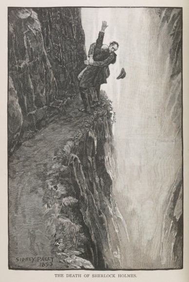 The original Reichenbach fall