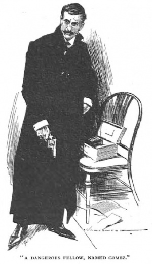 Illustration from The Lost Special in The Strand magazine