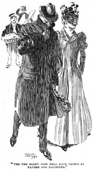 Illustration for The Man With The Watches by Frank Craig.