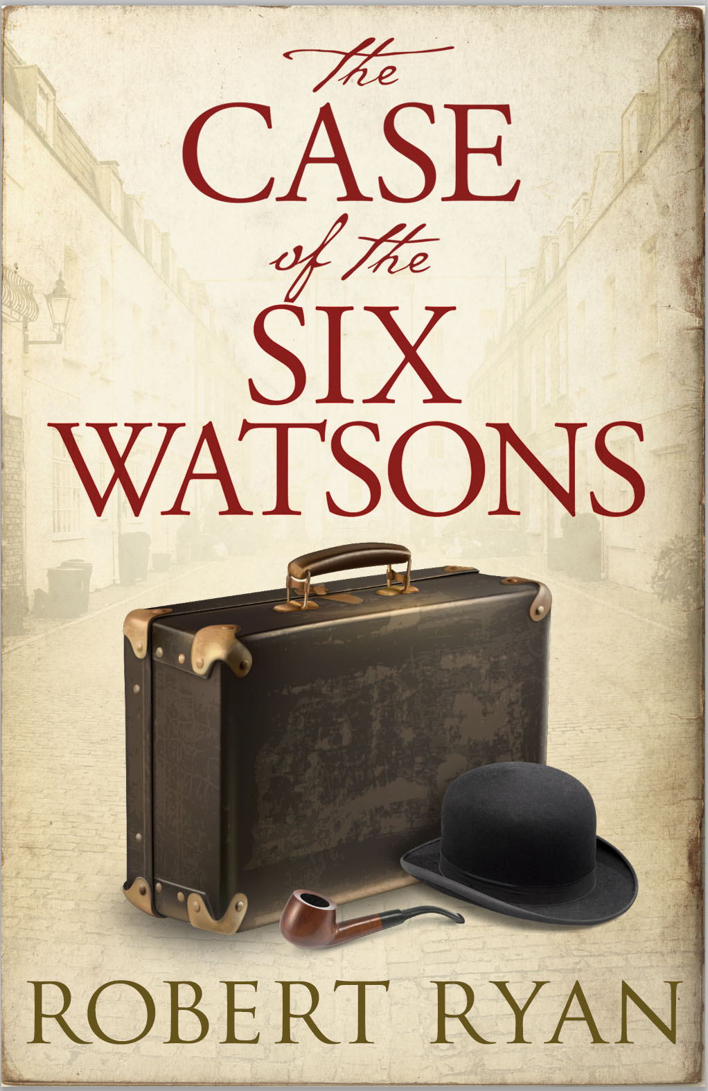 Watson robtryan case of the six watsons ebook cover fandeluxe Images