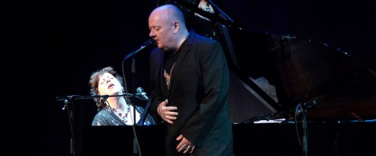 Ian Shaw (with the fabulous Liane Carroll at the piano)